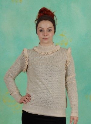 Pullover, Organic Cotton, fog