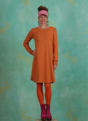 Kleid, Basic Cotton Cashmere, tomato-cream