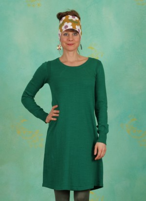 Kleid, Basic Cotton Cashmere, lush-meadow