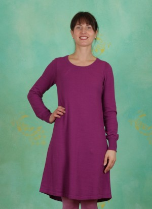 Kleid, Basic Cotton Cashmere, willowherb