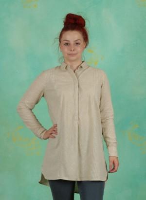 Tunika, Basic Cotton Slub, art-off-white
