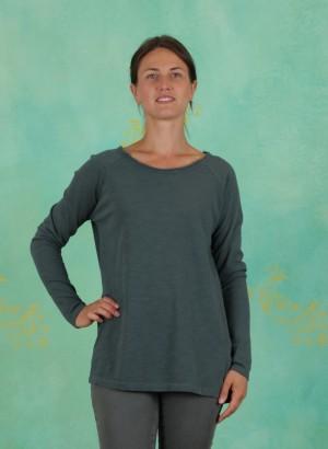 T-Shirt, Heavy Cotton Slub, balsam-green