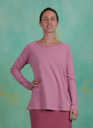 Shirt, Basic Heavy Cotton Slub, mauve-orchid