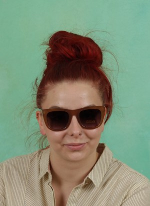 Sonnenbrille, Sophia Sunglasses, apple-cinnamon