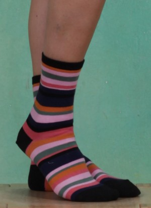 Socken, Multicolour Sock, art-multicolour
