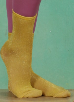 Socken, Cora Sock, oil-yellow