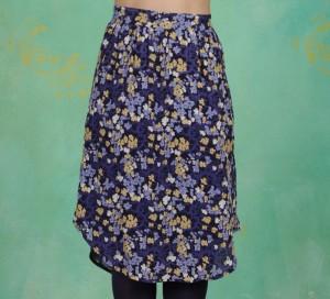 Rock, Floral Moss, print-blue
