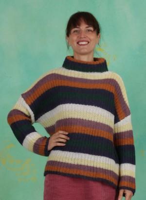Pullover, 1-9619-1, striped