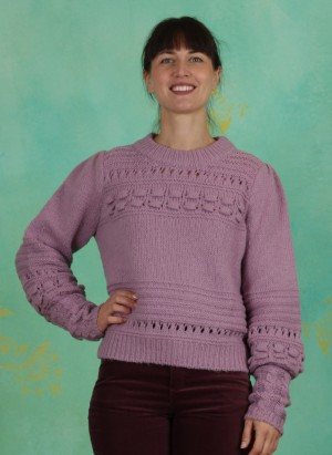 Pullover, 1-9874-1, lilac