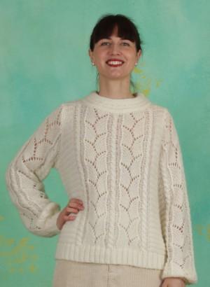 Pullover, 1-9877-1, white