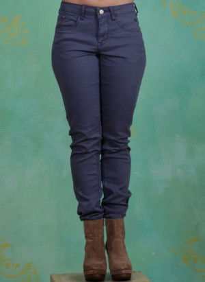 Hose, Lotte Twill Jeans Coco Fit, nightshadow-blue