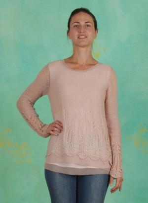 Pullover, Deana, rose-dust