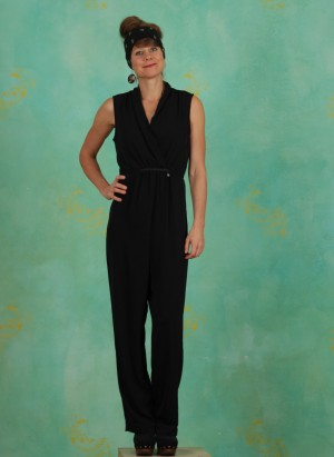 Jumpsuit, Vandana, pitch-black