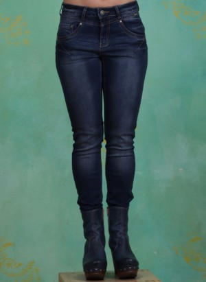 Hose, Amalie Jeans Shape Fit, rich-blue-denim