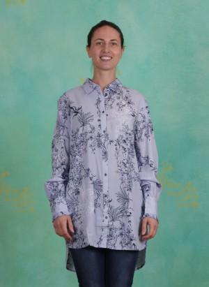 Shirt, Juliana, lavender-blue
