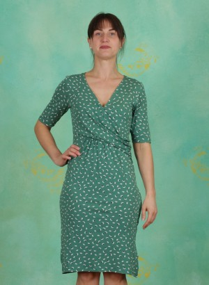 Kleid, Alexa, bottle-green