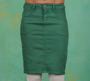 Rock, Amalie Skirt, bottle-green