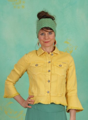 Jacke, Viviana Denim, cornsilk-yellow