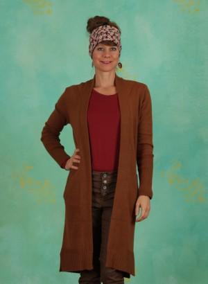 Cardigan, Knit Cardigan, bronzed