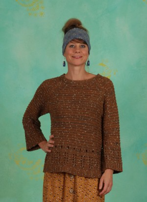Pullover, Knitted Pullover, bronzed