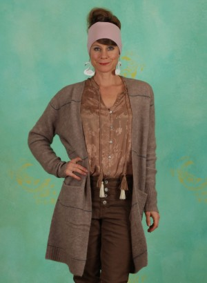 Cardigan, 10605554, brown