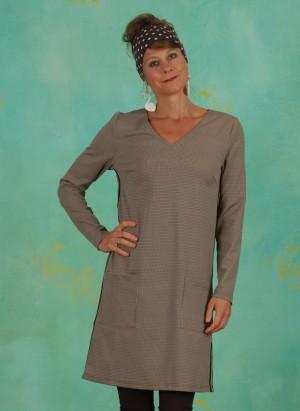 Kleid, 10607235, grey-brown