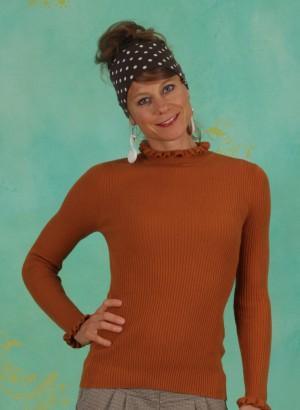 Pullover, 10607261, orange