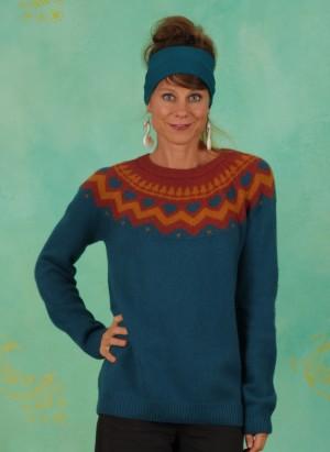 Pullover, 11992, blue