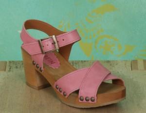 Schuhe, Bea, roma-rosa