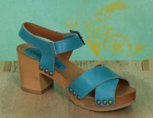 Schuhe, Bea, roma-türkis