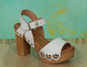 Schuhe, Carmen, sauvage-weiß