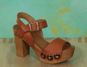 Schuhe, Carmen, rustik-camel
