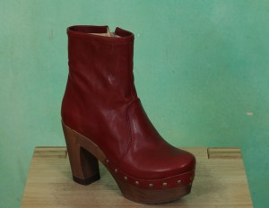 Schuhe, Isabell, roma-burgundy