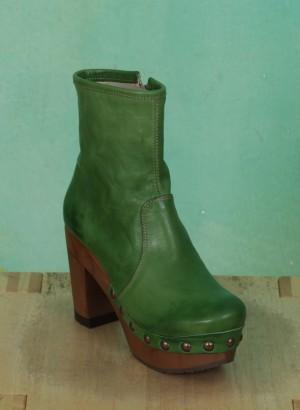 Schuhe, Isabell, roma-grün