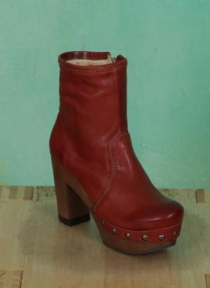 Schuhe, Isabell, roma-cognac