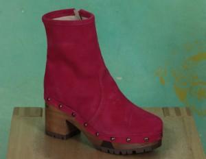 Schuhe, 1208-189, suede-pink