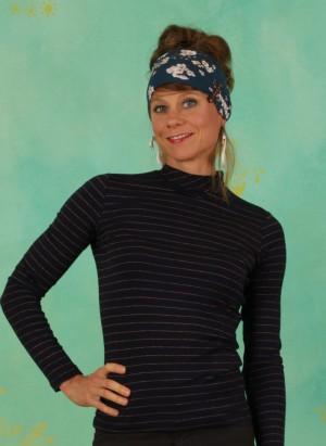 Shirt, 12203B, stripes-blue