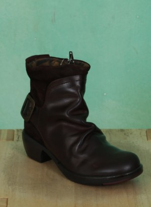 Schuhe, Mel, dark-brown