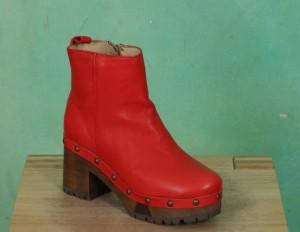 Schuhe, Emma, roma-rot