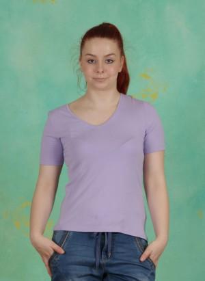 T-Shirt, Pracht, lila