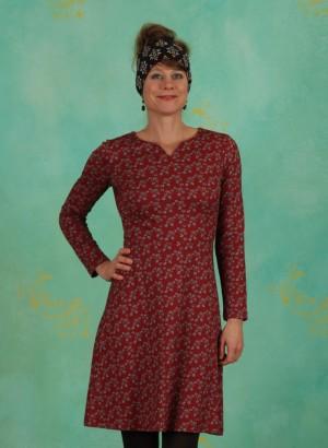 Kleid, 192-13-060-1082, bordeaux
