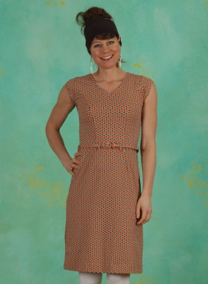 Kleid, 20S5905, orange