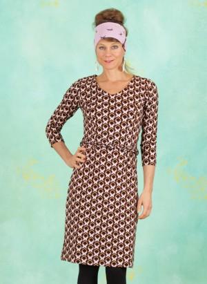 Kleid, 20W6291, brown-multi