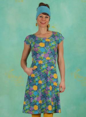 Kleid, 21105-07, blue-multi