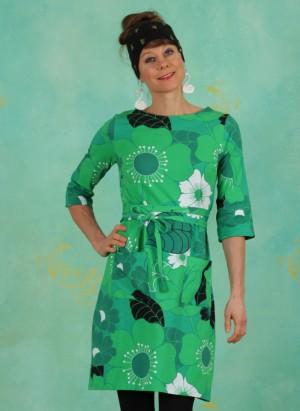 Kleid, 21106-04, green-multi