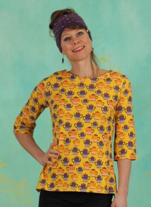 Shirt, 21110-05, yellow-multi