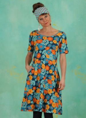 Kleid, 21159-06, blue-multi