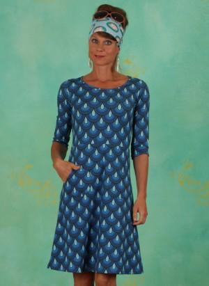 Kleid, 21329-01, blue