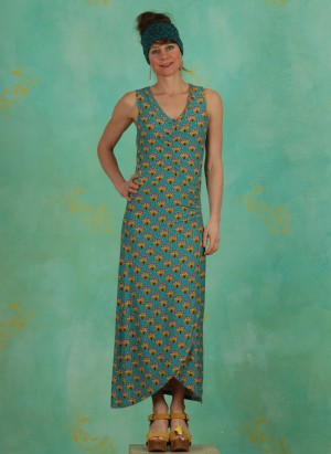 Kleid, 385164, turquoise