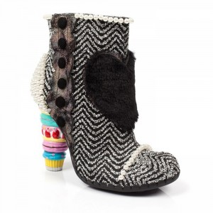 Schuhe, Bee Delicious, black-silver